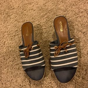 Sperry's Nautical Wedge Shoes